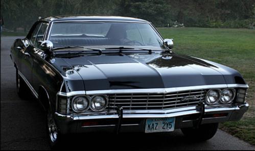 What does dean call his car?