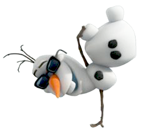 How many fingers does Olaf has?