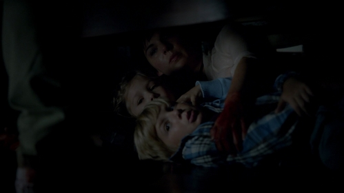 How did Jo save the twins?