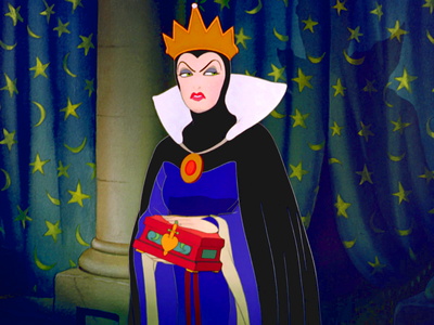 "EVIL QUEEN: ""The moyo of a ________? Then I've been tricked!"""