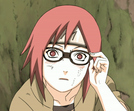 During the chunin exams she lost track of her team-mates and was attacked by what?