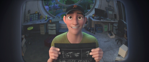 How many times did Tadashi have to test Baymax until he worked?