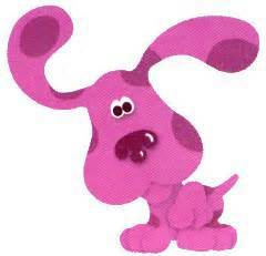 Is Blue the puppy's best friend, Magenta, a kid atau adult?