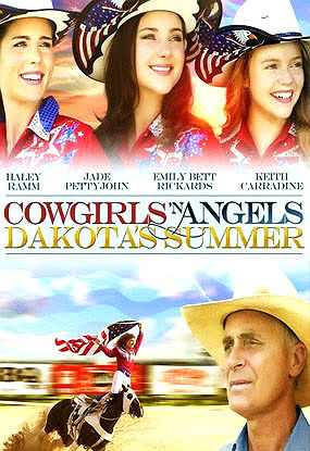 What is the name of Emily's character in the movie Cowgirls 'N anges 2: Dakota's Summer?