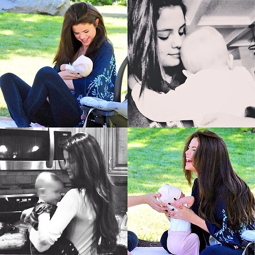 What is Selena's little sister's name ?