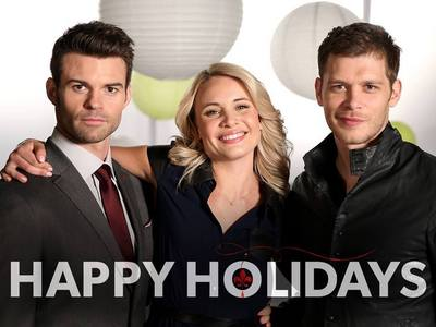 Christmas in the TV: what serie does this christmas greeting belong to?