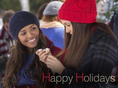 クリスマス in the TV: what serie does this クリスマス greeting belong to?