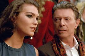 Who is the girl in the Louis Vutton AD that David Bowie is seducing?