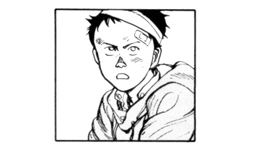 Akira- What is the correct description for Tetsuo's childhood?