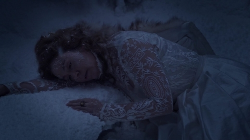 Who saved Catherine from being Frozen in 2x12?