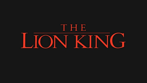 T/F. The Lion King title was seen both at the opening and ending of the movie.