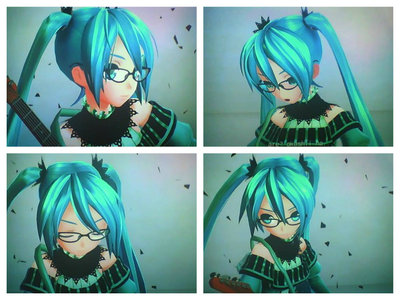 What is the name of the Outfit Hatsune Miku is wearing? And what is the songs name Hatsune Miku is in?