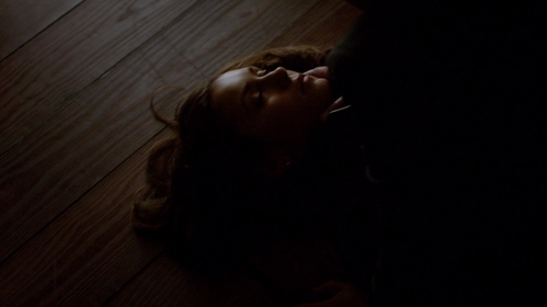 Who broke Elena's neck here?
