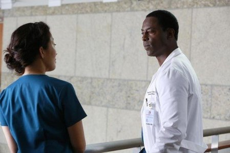 Which doctor left to join Cristina in Switzerland when she took over for Burke?