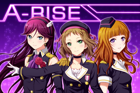 Which song does A-RISE sing?