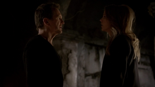 "What did Freya say to Mikael for him to recognize her in ""They All Asked For You"" (2x15)?"
