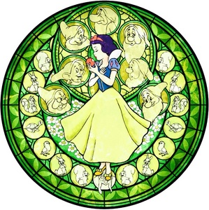 What is the name of Snow White's প্রথমপাতা world in the Kingdom Hearts series?