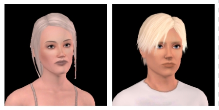 Do those two Sims have the same Intitials?