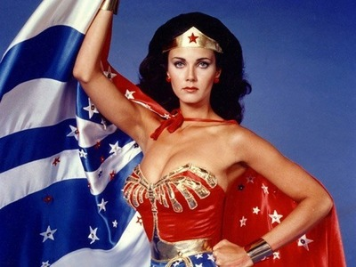Lynda Carter appeared in how many episodes of Wonder Woman?