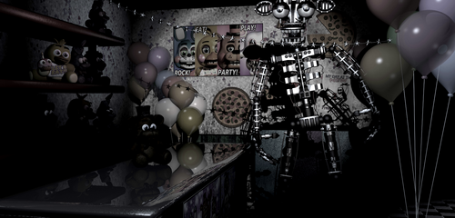 Does toy animatronics haves endoskeleton?
