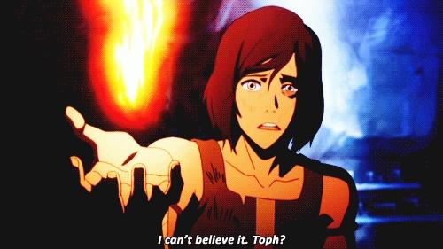 Korra found Toph in: