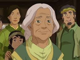 What was the name of Mako and Bolin's grandmother?