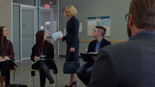 "Why does Norma leave this class in ""Persuasion"" (3x03)?"