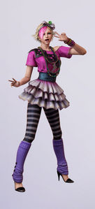 According to Rosalind estornino, starling in the game 'Lollipop Chainsaw', what is her secret dream?
