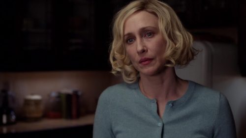 Who tells Norma about Caleb being back in town?
