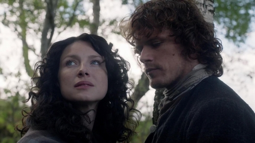 "In ""The Devil's Mark"" (1x11), when Jamie tells Claire that he is taking her home, where does he mean?"