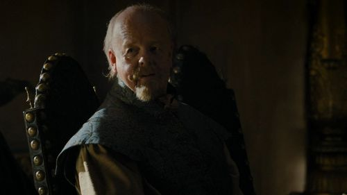"According to Cersei, which position has Tommen decided to give to Mace Tyrell in ""The House of Black and White"" (5x02)?"