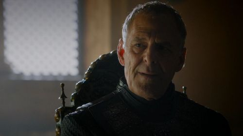"According to Cersei, which position has Tommen decided to give to Kevan Lannister in ""The House of Black and White"" (5x02)?"