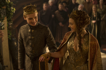 With the wedding of the picture, how many times has been Margaery married so far?