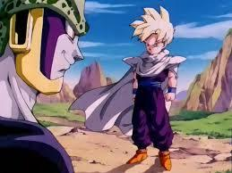 How old was Gohan when he fought Cell?