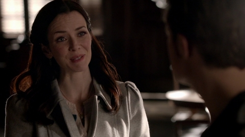 """How did she know what she had to tell him in  """"I Never Could Love Like That"""" (6x18)?"""