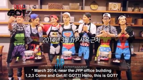In Real Got7, what did BamBam name his group's cooking team?