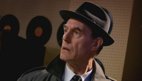 """In """"The Idiots Lantern"""" what is the name of the Detective Inspector?"""