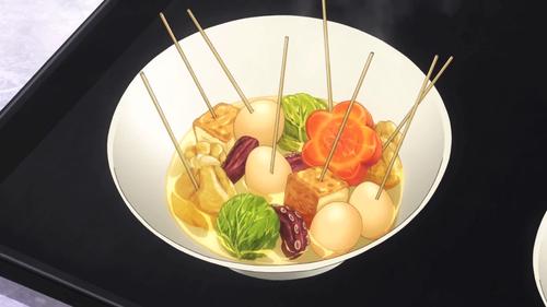 nourriture in anime: Oden in?