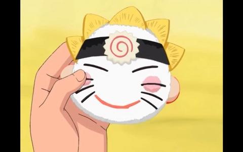 Food in anime: Onigiri in?