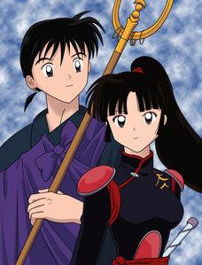 How Many Kids Did Miroku & Sango Have ?