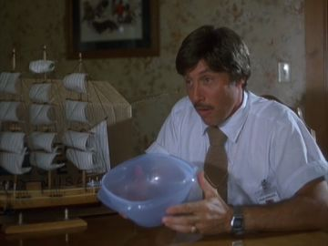 How big was the Tupperware collection Rico was trying to sell to Trisha's mother?
