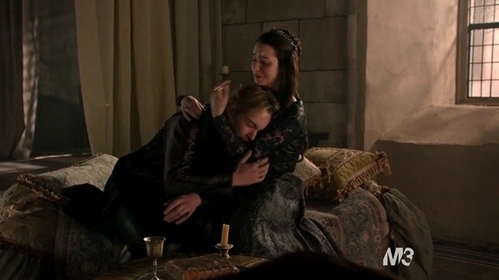 """Why do Francis and Mary cry in this scene of""""Burn"""" (2x22)?"""
