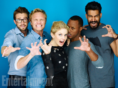 San Diego Comic-Con 2015's cast portraits: what প্রদর্শনী are they from?