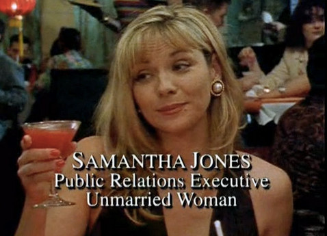 """How Well Do You Remember The First Episode Of """"Sex And The City""""? 6. What's Samantha's suggestion to Miranda?"""