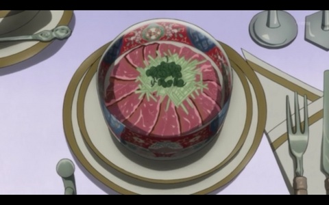 खाना in anime: Which कुरोशितसूजी episode is this?