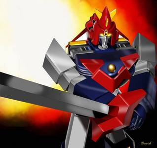 What type of Armor was Voltes V made of?