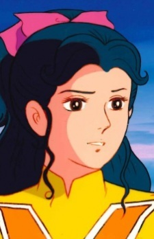 What specialty does the young female member of Voltes V has to offer?