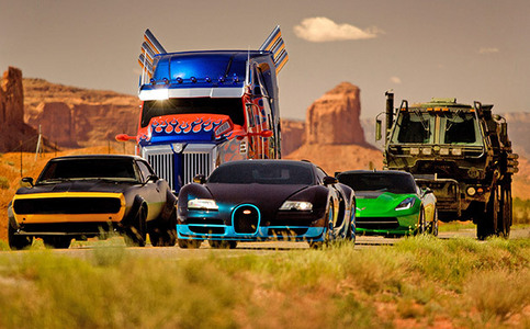 Name the transformers from your left to right.