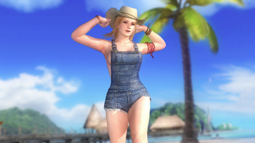 How old is she in 'Dead 또는 Alive 5?'