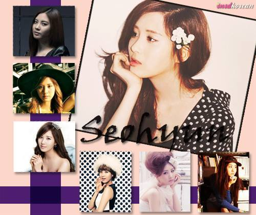 What is SeoHyun's favorite color?